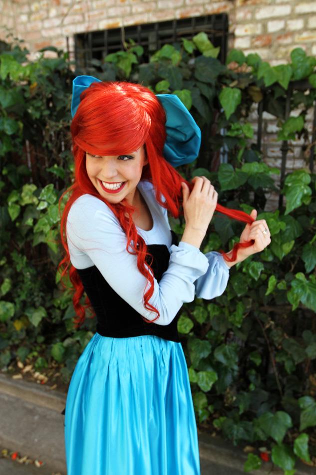 Little Mermaid Blue Dress Little Mermaid Day Dress